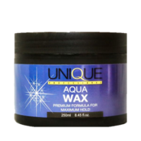 unique aqua wax